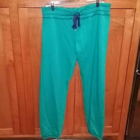 Honeydew Intimates Pants - New Honeydew Green French Terry Joggers Large